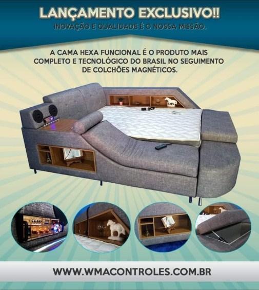 Lançamento cama hexa funcional